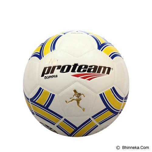 PROTEAM Bola Soccer Size 5 [Olympia] - Blue/Yellow - Bola Sepak / Soccer Ball